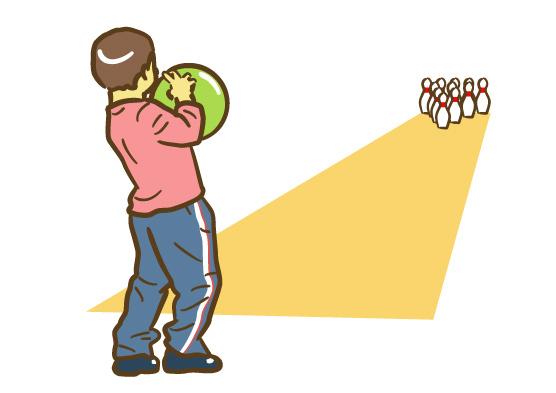 ボウリングで曲がるボールは、とても派手ですから、少しボウリングに慣れて... ボウリングのボウル